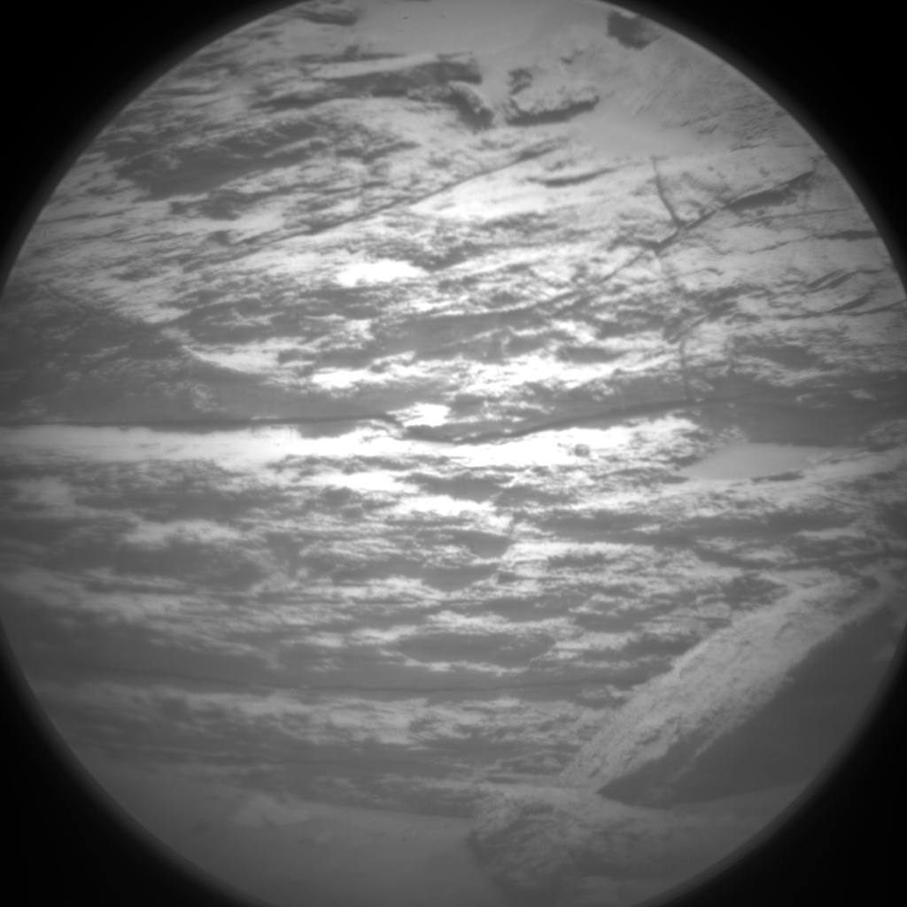 Nasa's Mars rover Curiosity acquired this image using its Chemistry & Camera (ChemCam) on Sol 3163, at drive 1862, site number 89