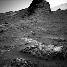 Nasa's Mars rover Curiosity acquired this image using its Left Navigation Camera on Sol 3163, at drive 1868, site number 89
