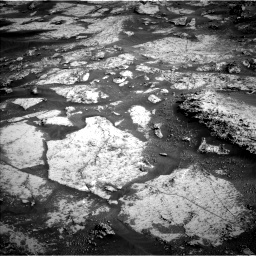 Nasa's Mars rover Curiosity acquired this image using its Left Navigation Camera on Sol 3163, at drive 1952, site number 89