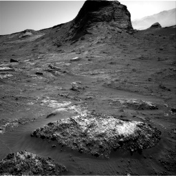 Nasa's Mars rover Curiosity acquired this image using its Right Navigation Camera on Sol 3163, at drive 1868, site number 89