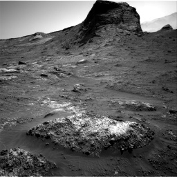 Nasa's Mars rover Curiosity acquired this image using its Right Navigation Camera on Sol 3163, at drive 1874, site number 89