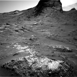 Nasa's Mars rover Curiosity acquired this image using its Right Navigation Camera on Sol 3163, at drive 1880, site number 89