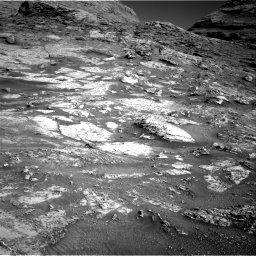 Nasa's Mars rover Curiosity acquired this image using its Right Navigation Camera on Sol 3163, at drive 1922, site number 89