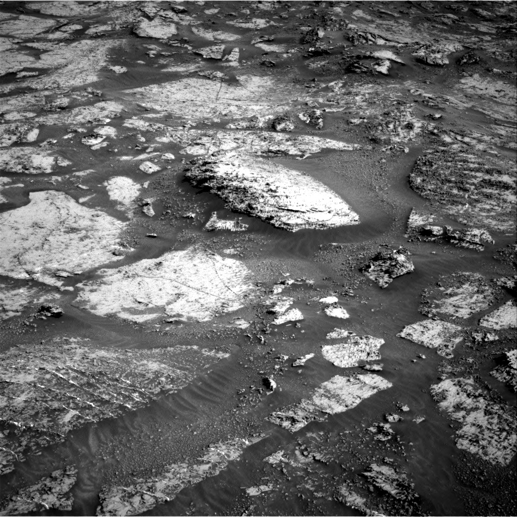 Nasa's Mars rover Curiosity acquired this image using its Right Navigation Camera on Sol 3163, at drive 1940, site number 89