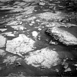 Nasa's Mars rover Curiosity acquired this image using its Right Navigation Camera on Sol 3163, at drive 1946, site number 89