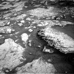 Nasa's Mars rover Curiosity acquired this image using its Right Navigation Camera on Sol 3163, at drive 1958, site number 89