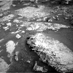 Nasa's Mars rover Curiosity acquired this image using its Right Navigation Camera on Sol 3163, at drive 1964, site number 89