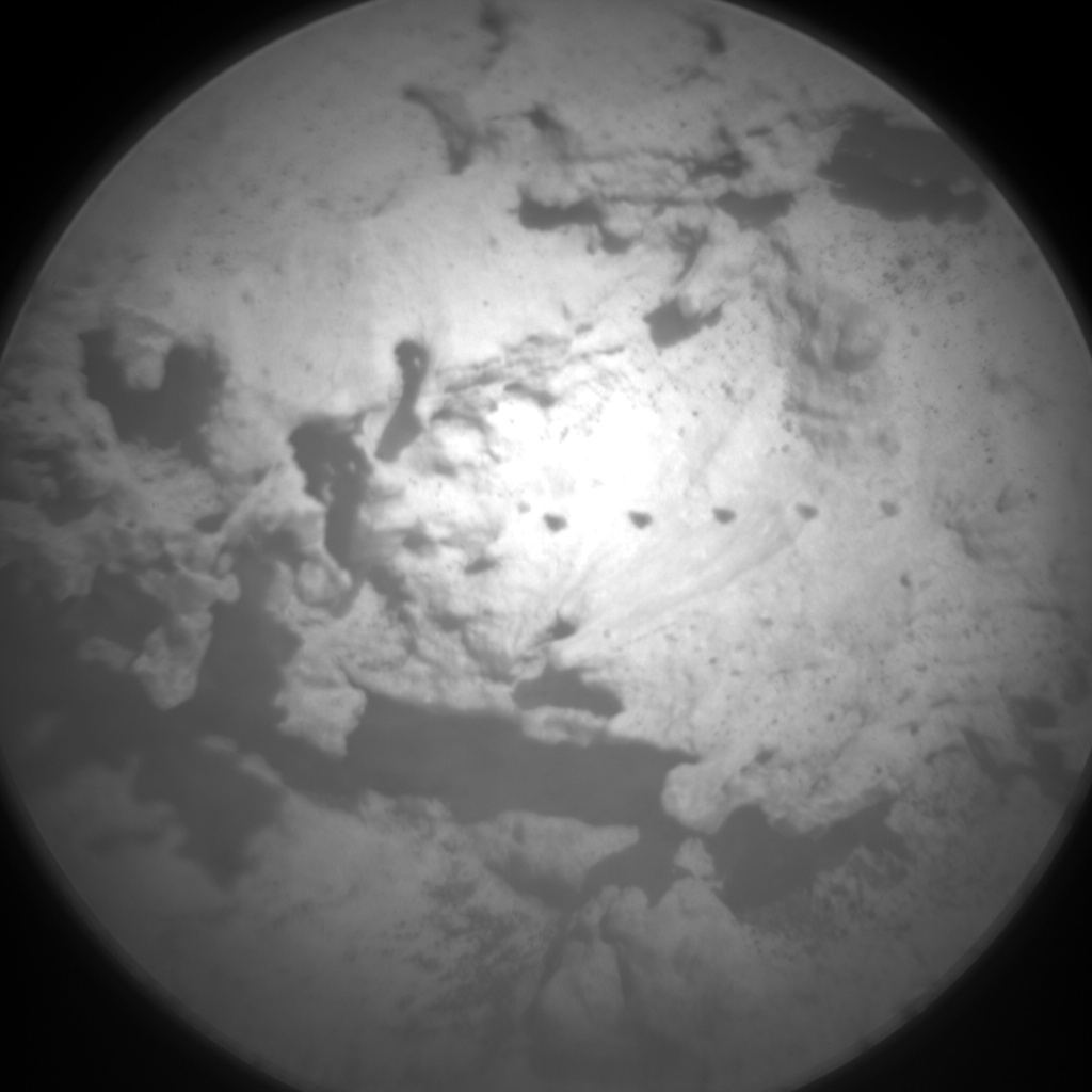 Nasa's Mars rover Curiosity acquired this image using its Chemistry & Camera (ChemCam) on Sol 3165, at drive 1974, site number 89