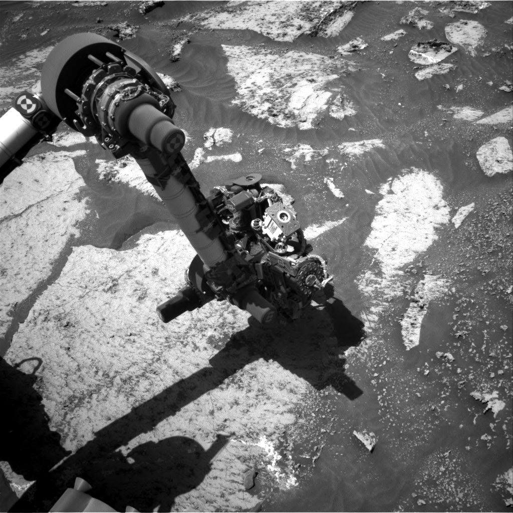 Nasa's Mars rover Curiosity acquired this image using its Right Navigation Camera on Sol 3165, at drive 1974, site number 89