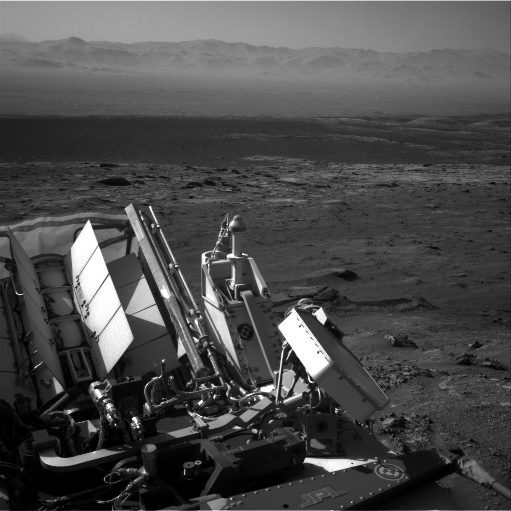 Nasa's Mars rover Curiosity acquired this image using its Right Navigation Camera on Sol 3165, at drive 1992, site number 89