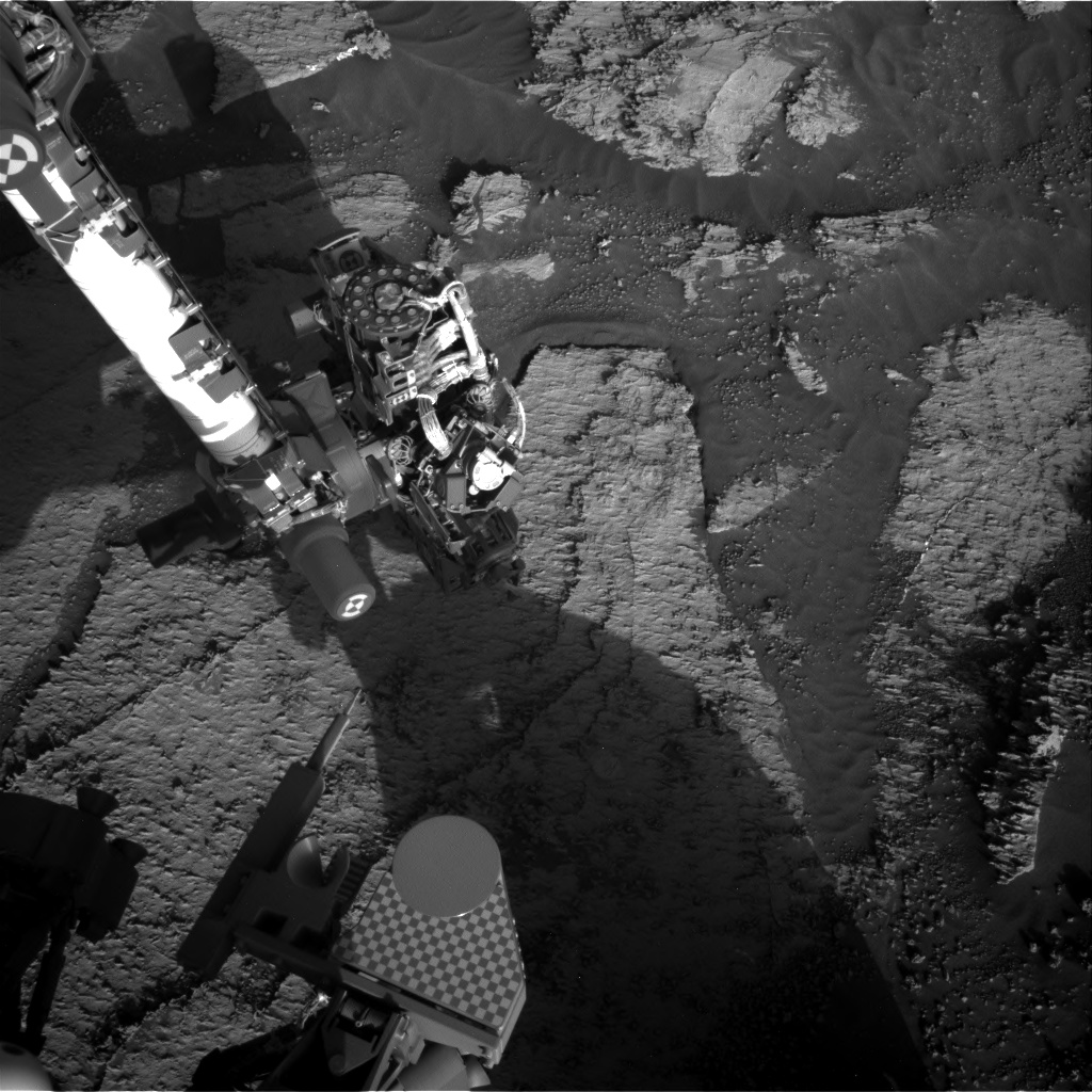 Nasa's Mars rover Curiosity acquired this image using its Right Navigation Camera on Sol 3167, at drive 1992, site number 89