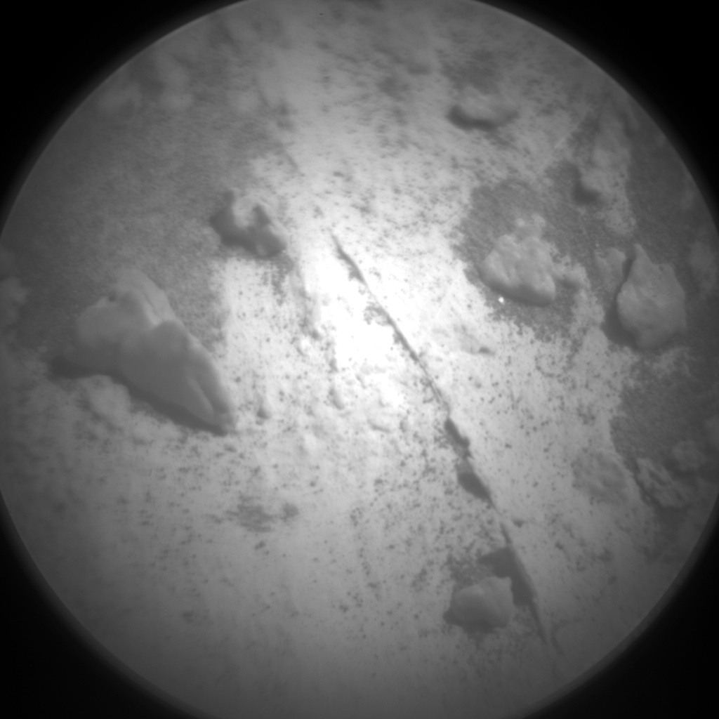 Nasa's Mars rover Curiosity acquired this image using its Chemistry & Camera (ChemCam) on Sol 3169, at drive 1992, site number 89