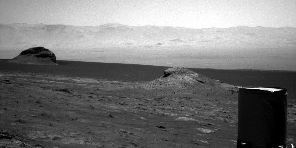 Nasa's Mars rover Curiosity acquired this image using its Right Navigation Camera on Sol 3169, at drive 1992, site number 89