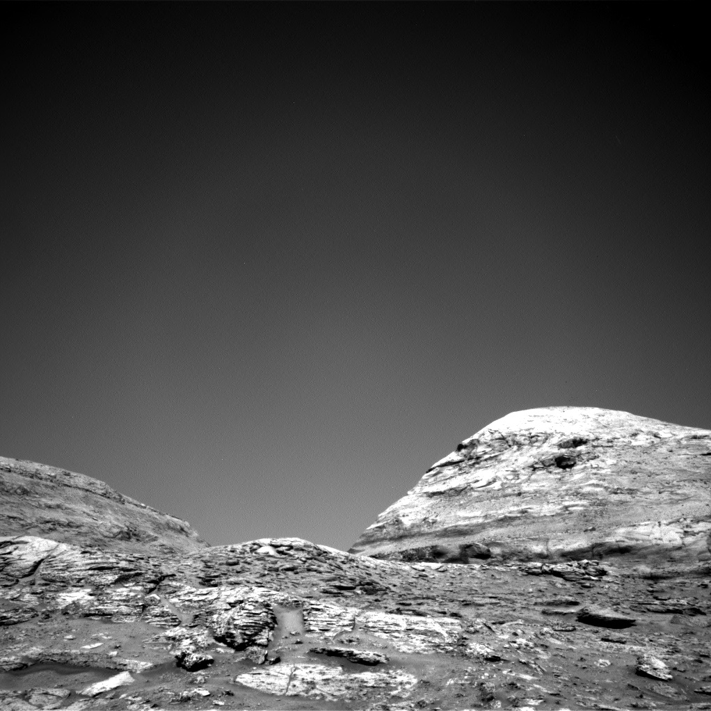 Nasa's Mars rover Curiosity acquired this image using its Right Navigation Camera on Sol 3170, at drive 1992, site number 89