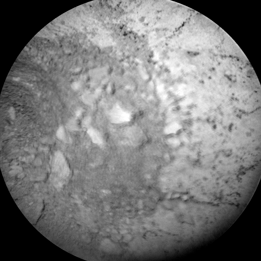 Nasa's Mars rover Curiosity acquired this image using its Chemistry & Camera (ChemCam) on Sol 3171, at drive 1992, site number 89