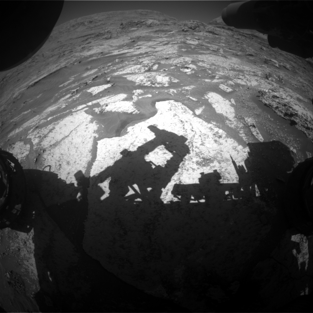 Nasa's Mars rover Curiosity acquired this image using its Front Hazard Avoidance Camera (Front Hazcam) on Sol 3172, at drive 1992, site number 89