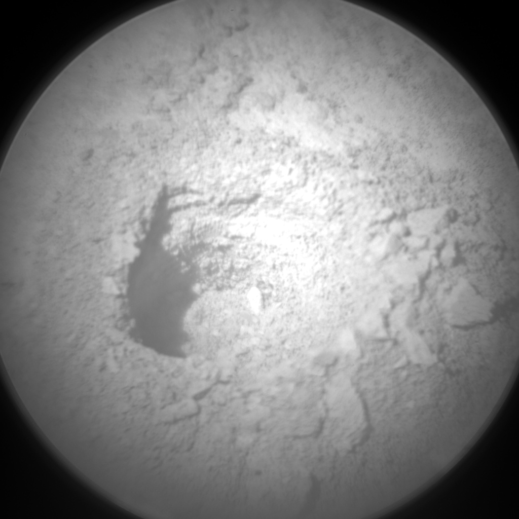 Nasa's Mars rover Curiosity acquired this image using its Chemistry & Camera (ChemCam) on Sol 3173, at drive 1992, site number 89