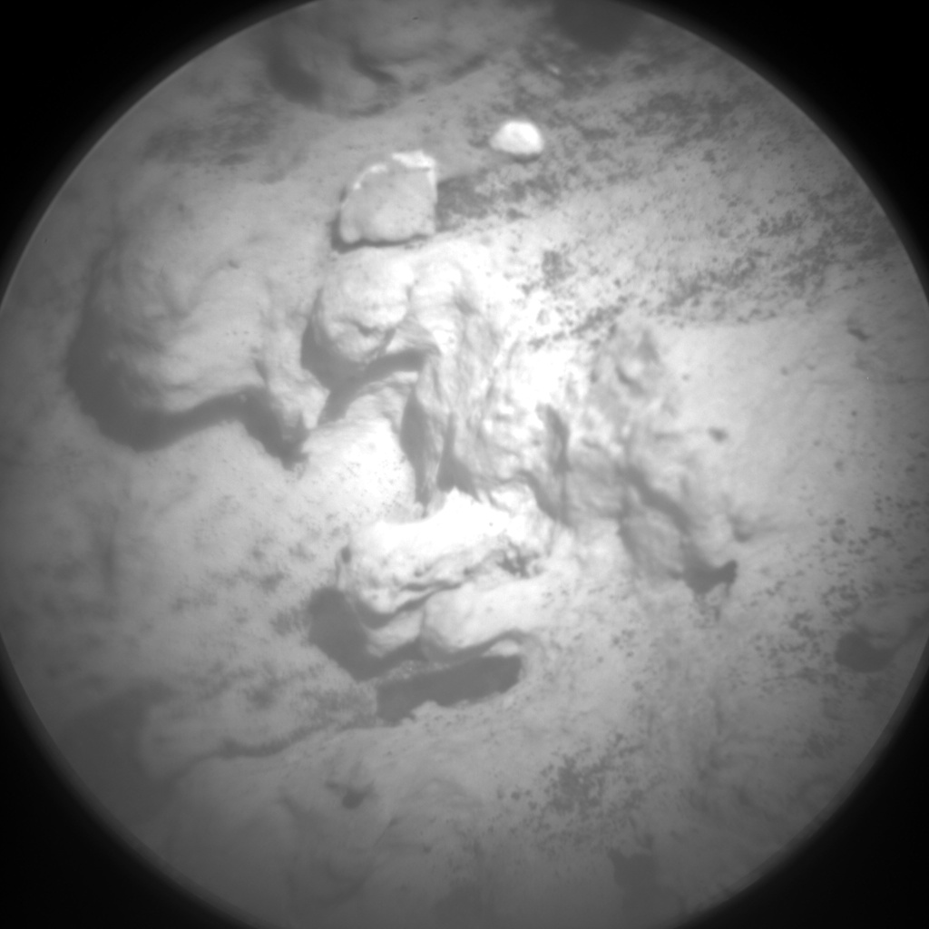 Nasa's Mars rover Curiosity acquired this image using its Chemistry & Camera (ChemCam) on Sol 3174, at drive 1992, site number 89