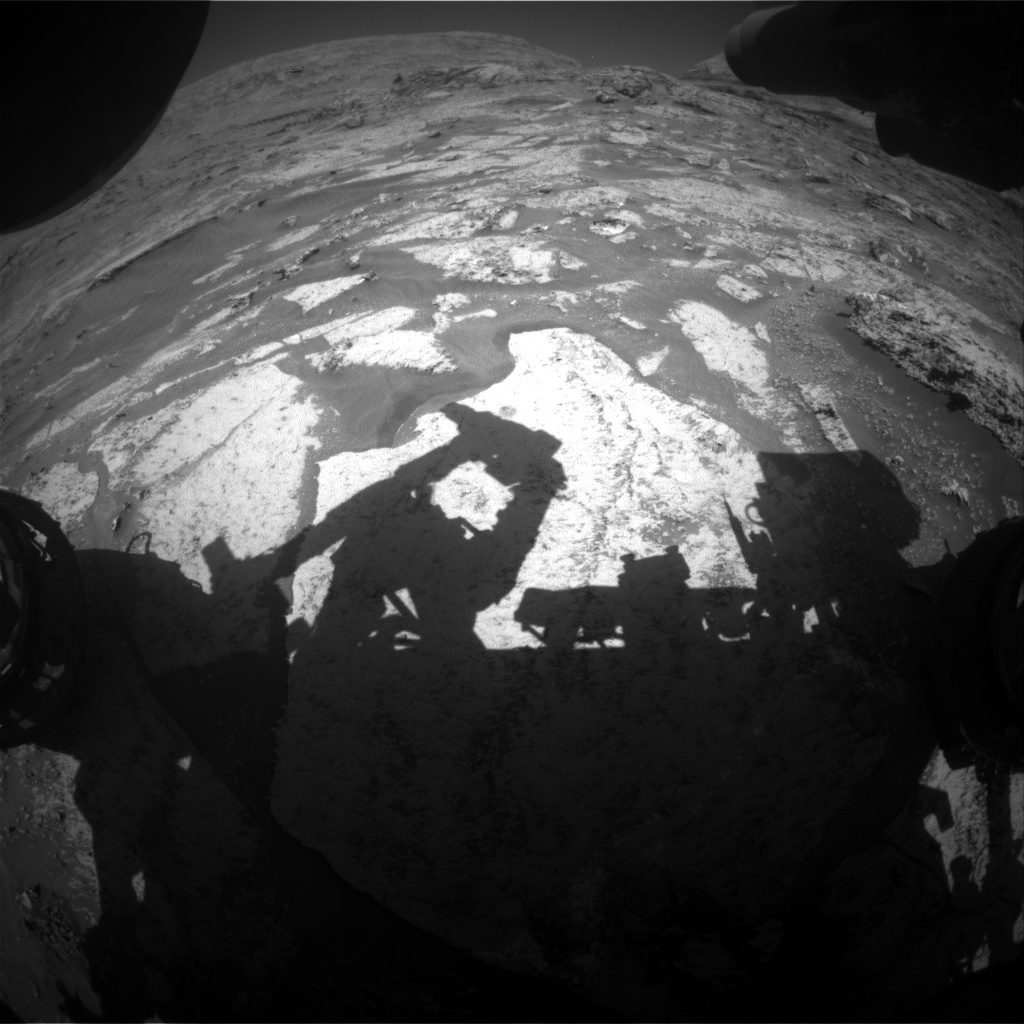 Nasa's Mars rover Curiosity acquired this image using its Front Hazard Avoidance Camera (Front Hazcam) on Sol 3175, at drive 1992, site number 89