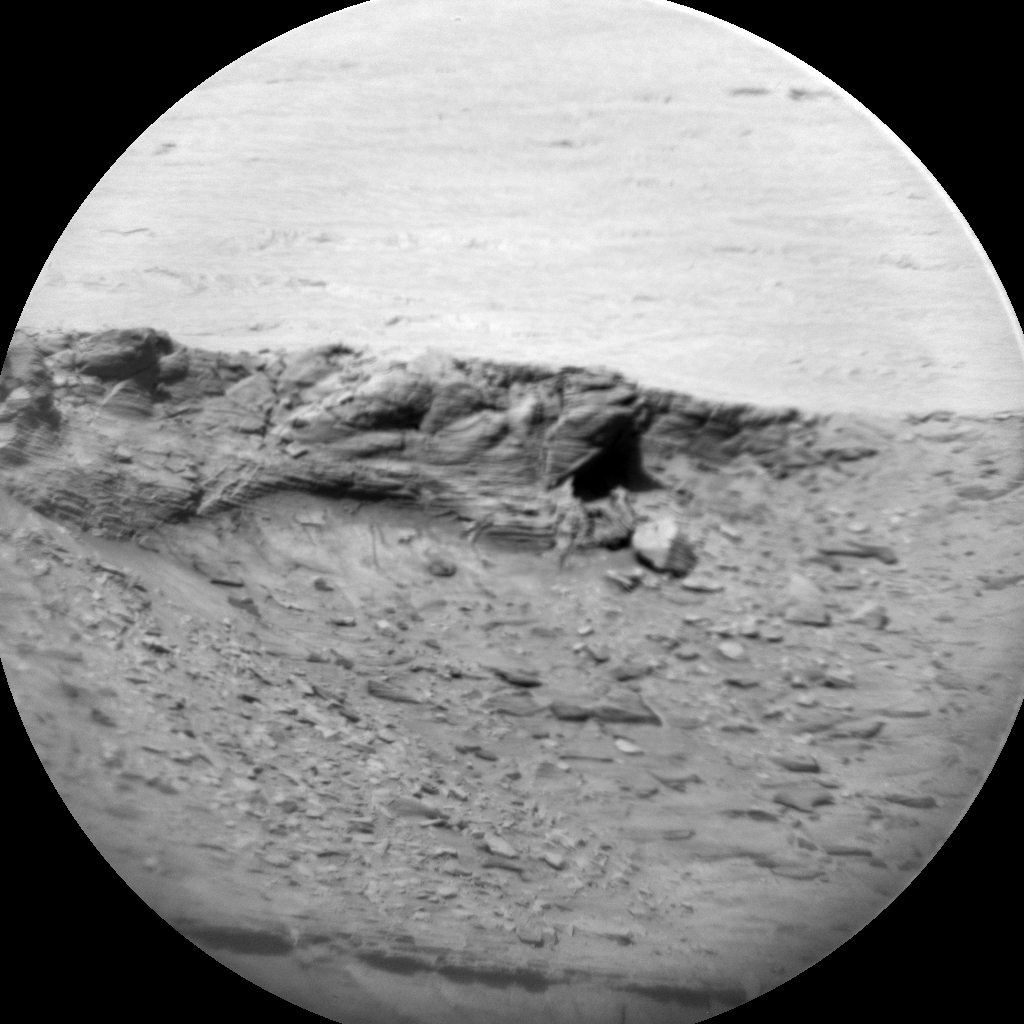 Nasa's Mars rover Curiosity acquired this image using its Chemistry & Camera (ChemCam) on Sol 3175, at drive 1992, site number 89