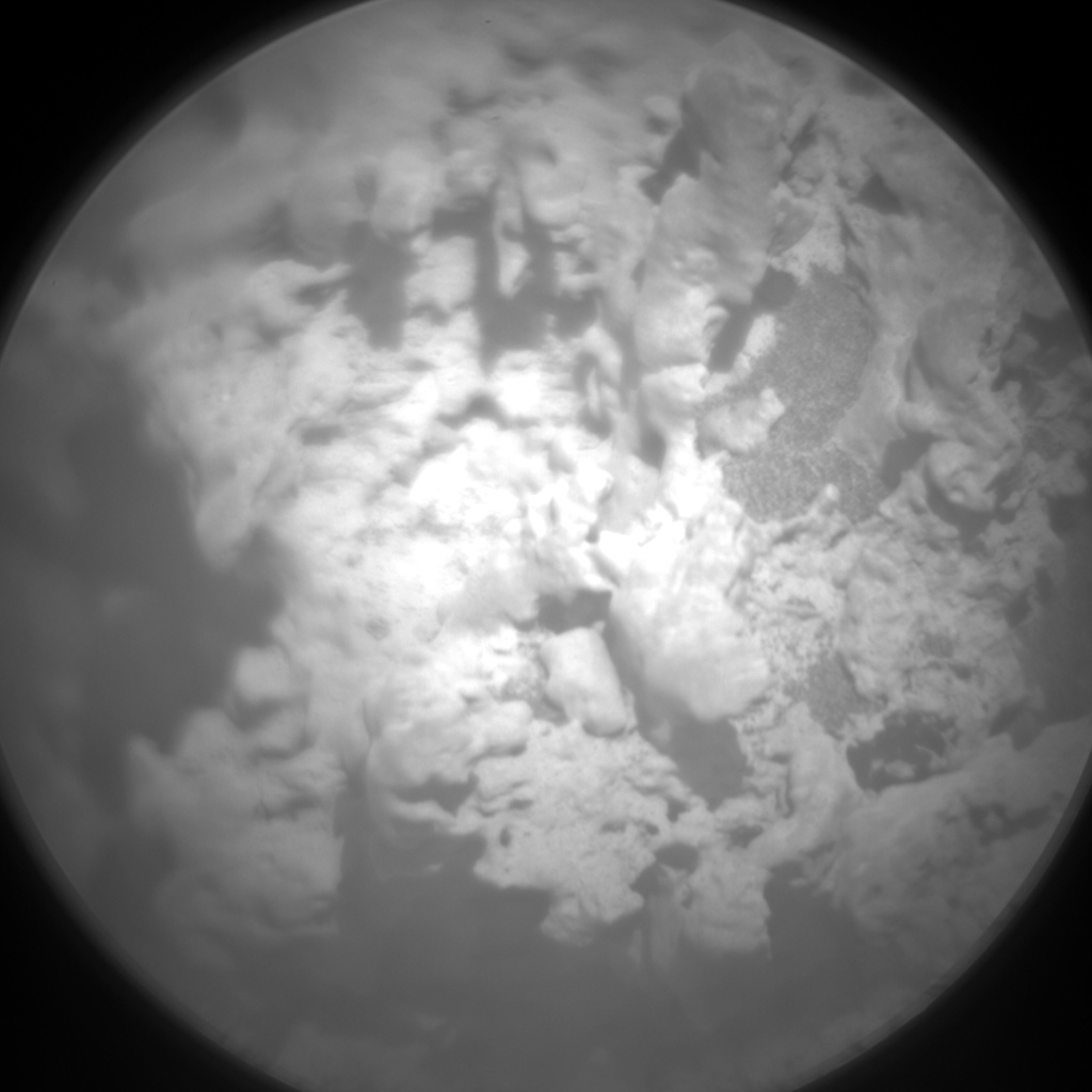 Nasa's Mars rover Curiosity acquired this image using its Chemistry & Camera (ChemCam) on Sol 3176, at drive 1992, site number 89