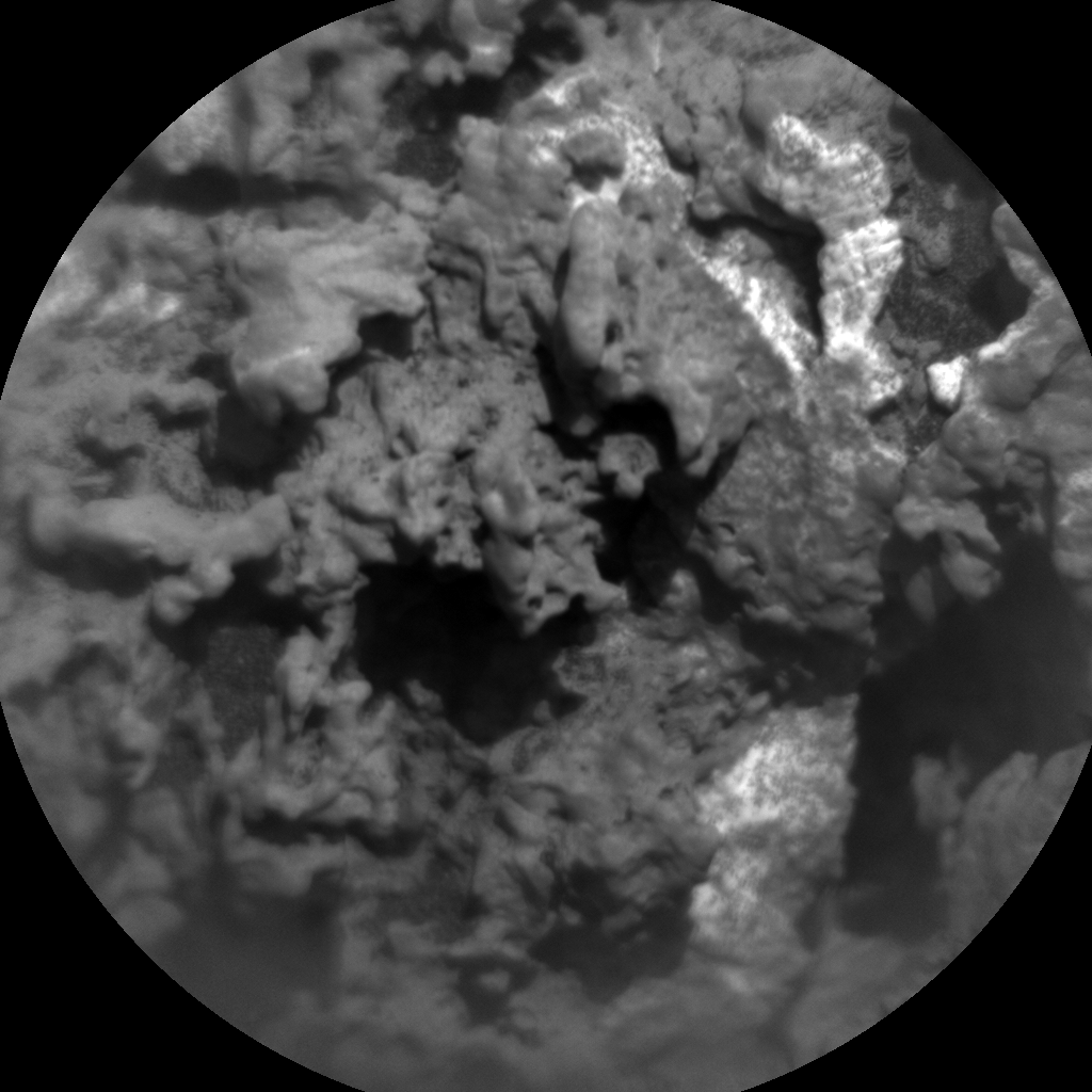 Nasa's Mars rover Curiosity acquired this image using its Chemistry & Camera (ChemCam) on Sol 3179, at drive 1992, site number 89