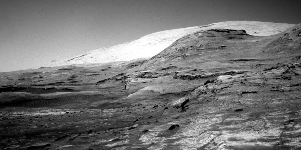 Nasa's Mars rover Curiosity acquired this image using its Right Navigation Camera on Sol 3180, at drive 1992, site number 89