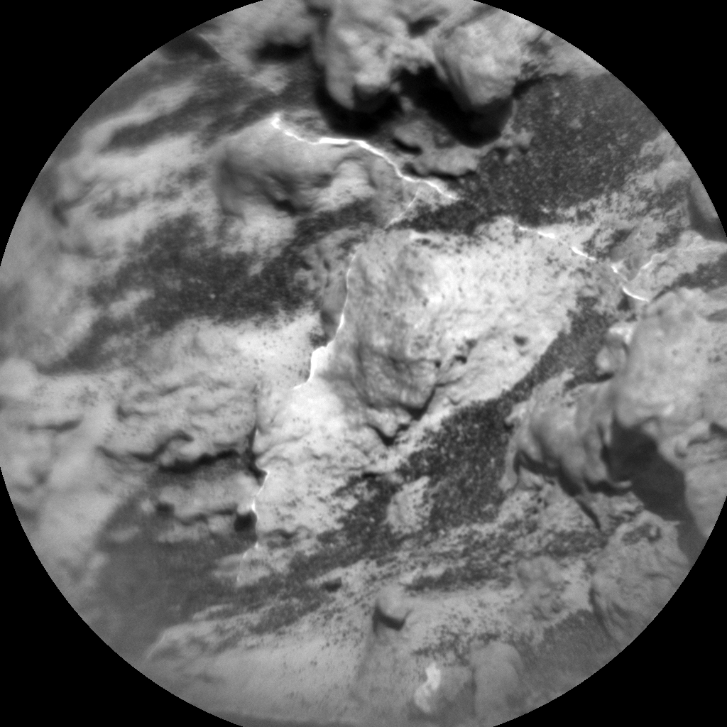 Nasa's Mars rover Curiosity acquired this image using its Chemistry & Camera (ChemCam) on Sol 3181, at drive 1992, site number 89