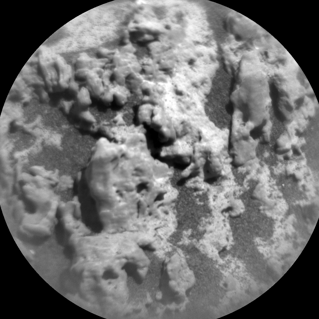 Nasa's Mars rover Curiosity acquired this image using its Chemistry & Camera (ChemCam) on Sol 3182, at drive 1992, site number 89