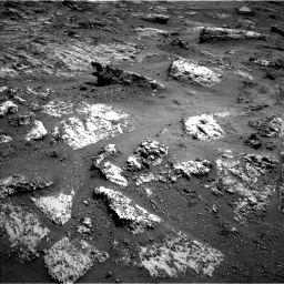 Nasa's Mars rover Curiosity acquired this image using its Left Navigation Camera on Sol 3183, at drive 2016, site number 89