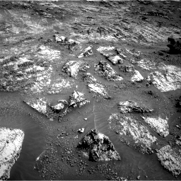 Nasa's Mars rover Curiosity acquired this image using its Right Navigation Camera on Sol 3183, at drive 1998, site number 89