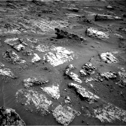 Nasa's Mars rover Curiosity acquired this image using its Right Navigation Camera on Sol 3183, at drive 2010, site number 89