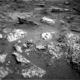 Nasa's Mars rover Curiosity acquired this image using its Right Navigation Camera on Sol 3183, at drive 2016, site number 89