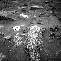 Nasa's Mars rover Curiosity acquired this image using its Right Navigation Camera on Sol 3183, at drive 2022, site number 89