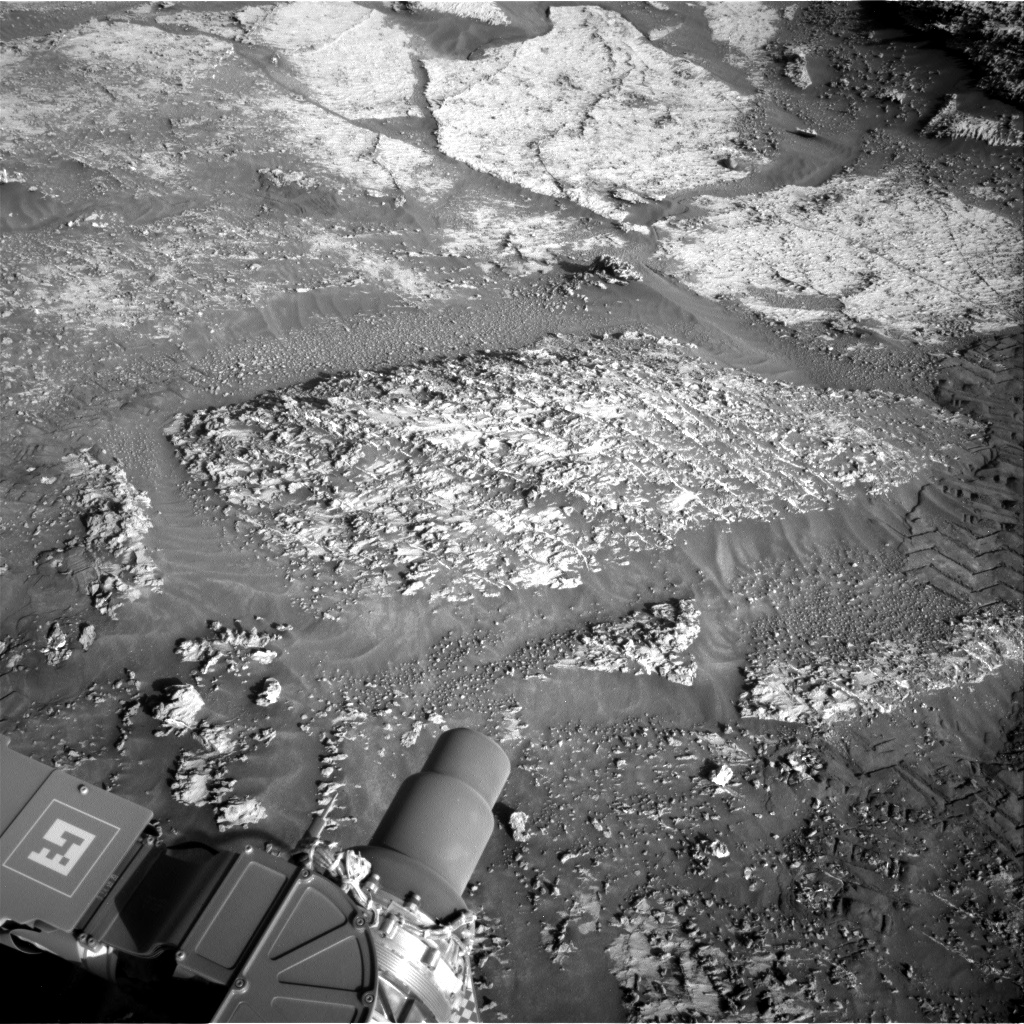 Nasa's Mars rover Curiosity acquired this image using its Right Navigation Camera on Sol 3183, at drive 2034, site number 89