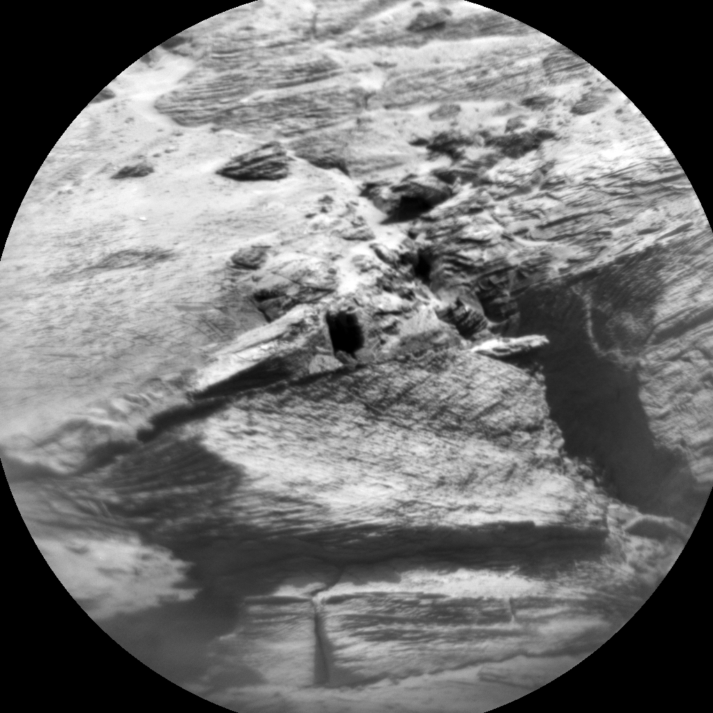 Nasa's Mars rover Curiosity acquired this image using its Chemistry & Camera (ChemCam) on Sol 3183, at drive 1992, site number 89