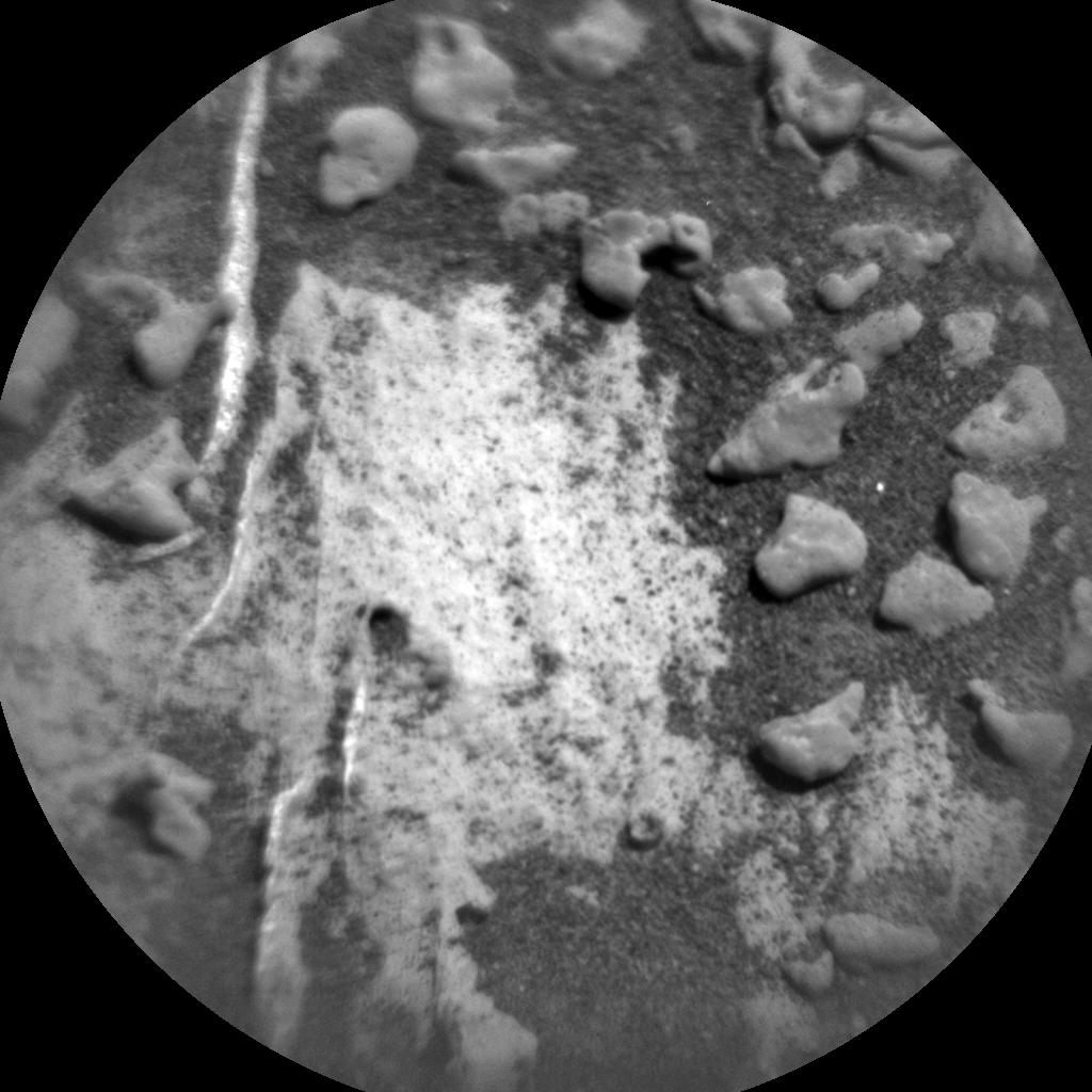 Nasa's Mars rover Curiosity acquired this image using its Chemistry & Camera (ChemCam) on Sol 3184, at drive 2034, site number 89