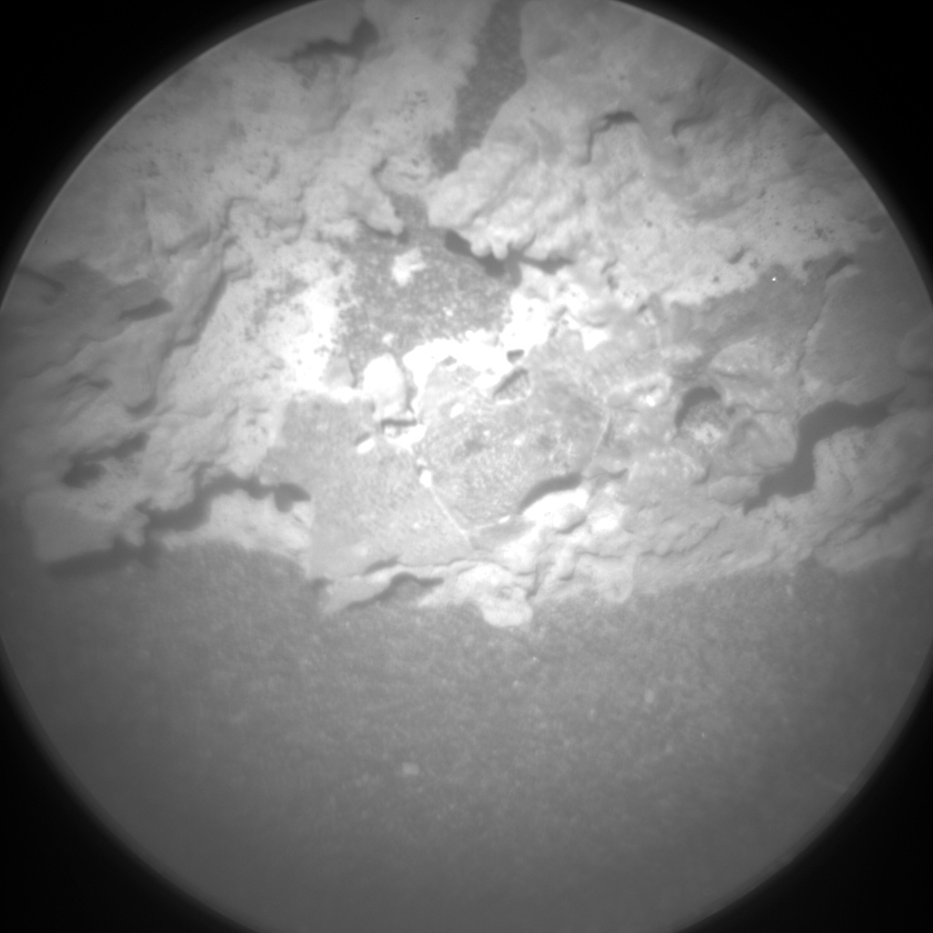 Nasa's Mars rover Curiosity acquired this image using its Chemistry & Camera (ChemCam) on Sol 3185, at drive 2034, site number 89