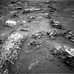 Nasa's Mars rover Curiosity acquired this image using its Left Navigation Camera on Sol 3185, at drive 2034, site number 89