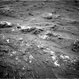 Nasa's Mars rover Curiosity acquired this image using its Left Navigation Camera on Sol 3185, at drive 2094, site number 89