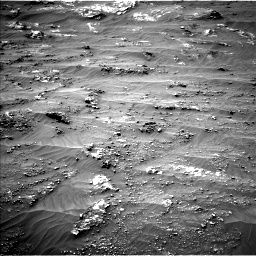 Nasa's Mars rover Curiosity acquired this image using its Left Navigation Camera on Sol 3185, at drive 2118, site number 89