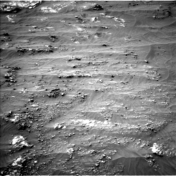 Nasa's Mars rover Curiosity acquired this image using its Left Navigation Camera on Sol 3185, at drive 2124, site number 89