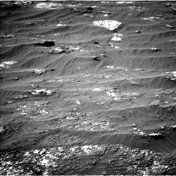 Nasa's Mars rover Curiosity acquired this image using its Left Navigation Camera on Sol 3185, at drive 2190, site number 89