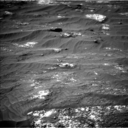 Nasa's Mars rover Curiosity acquired this image using its Left Navigation Camera on Sol 3185, at drive 2196, site number 89