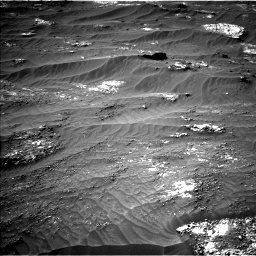 Nasa's Mars rover Curiosity acquired this image using its Left Navigation Camera on Sol 3185, at drive 2202, site number 89