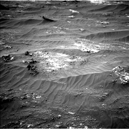 Nasa's Mars rover Curiosity acquired this image using its Left Navigation Camera on Sol 3185, at drive 2220, site number 89