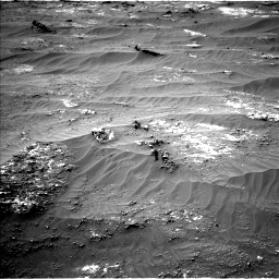 Nasa's Mars rover Curiosity acquired this image using its Left Navigation Camera on Sol 3185, at drive 2226, site number 89