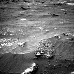 Nasa's Mars rover Curiosity acquired this image using its Left Navigation Camera on Sol 3185, at drive 2238, site number 89