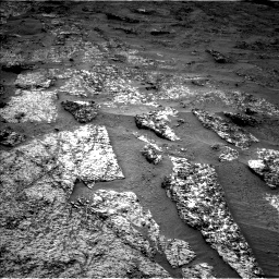 Nasa's Mars rover Curiosity acquired this image using its Left Navigation Camera on Sol 3185, at drive 2280, site number 89
