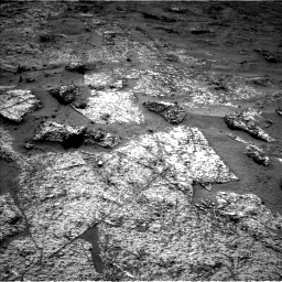 Nasa's Mars rover Curiosity acquired this image using its Left Navigation Camera on Sol 3185, at drive 2286, site number 89